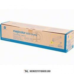 Konica Minolta MagiColor 8650DN Y sárga toner /A0D7253/, 20.000 oldal | eredeti termék
