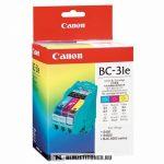 Canon BC-31E színes fej+tintapatron /4609A002/, 27 ml | eredeti termék