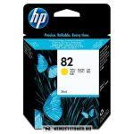 HP CH568A Y sárga #No.82 tintapatron, 28 ml   eredeti termék