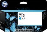 HP F9J97A C ciánkék  #No.745 tintapatron, 130 ml | eredeti termék
