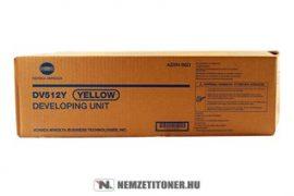 Konica Minolta Bizhub C224, C364 Y sárga developer /A2XN08D, DV-512Y/, 600.000 oldal   eredeti termék
