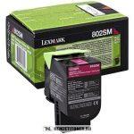 Lexmark CX 310, 410, 510 M magenta XL toner /80C2SM0, 802SM/, 2.000 oldal   eredeti termék