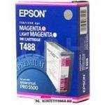 Epson T488 M magenta tintapatron /C13T488011/, 110 ml | eredeti termék