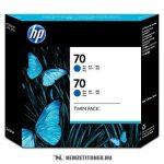 HP CB349A B kék #No.70 -2db tintapatron, 130 ml | eredeti termék