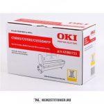 OKI C5800, C5900 Y sárga dobegység /43381721/, 20.000 oldal | eredeti termék