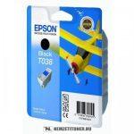 Epson T038 fekete tintapatron /C13T03814A10/, 10 ml | eredeti termék