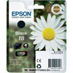 Epson T1801 Bk fekete tintapatron /C13T18014010, C13T18014012/, 5,2 ml | eredeti termék