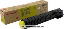 Sharp MX-70 GTYA Y sárga toner, 32.000 oldal | eredeti termék