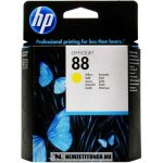 HP C9388AE Y sárga #No.88 tintapatron, 10 ml | eredeti termék