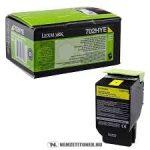 Lexmark 70x Yellow Toner High Corporate(Eredeti)70C2HYE