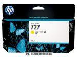 HP B3P21A Y sárga #No.727 tintapatron, 130 ml | eredeti termék