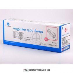 Konica Minolta MagiColor 2300 M magenta toner /4576-415, 171-0517-003/, 1.500 oldal   eredeti termék