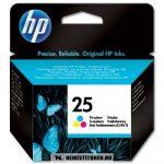 HP 51625AE színes #No.25 tintapatron, 20 ml | eredeti termék