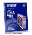Epson T485 LC világos ciánkék tintapatron /C13T485011/, 110 ml | eredeti termék