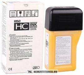 RISO HC 5000 Y sárga tinta /S-4673/, 1x1050 ml | eredeti termék