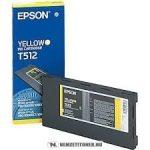 Epson T512 Y sárga tintapatron /C13T512011/, 500 ml | eredeti termék