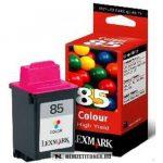 Lexmark 12A1985E színes #No.85 tintapatron, 35 ml | eredeti termék