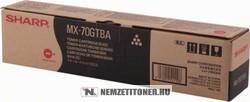 Sharp MX-70 GTBA Bk fekete toner, 42.000 oldal | eredeti termék