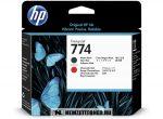 HP P2V97A Bk+ChR fekete+krómpiros #No.774 nyomtatófej   eredeti termék
