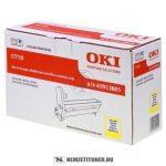 OKI C710 Y sárga dobegység /43913805/, 15.000 oldal   eredeti termék