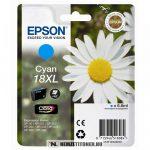 Epson T1812 XL C ciánkék tintapatron /C13T18124010/, 6,6 ml | eredeti termék