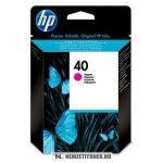 HP 51640ME M magenta #No.40 tintapatron, 42 ml | eredeti termék