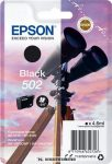 Epson T02V1 Bk fekete tintapatron /C13T02V14010, 502/, 4,6 ml | eredeti termék