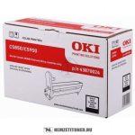 OKI C5850, C5950 Bk fekete dobegység /43870024/, 20.000 oldal | eredeti termék