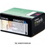 Lexmark C540, C543, C544 C ciánkék toner /C540A1CG/, 1.000 oldal | eredeti termék
