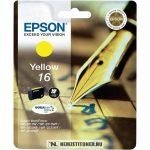 Epson T1624 Y sárga tintapatron /C13T16244010, C13T16244012/, 3,1 ml | eredeti termék
