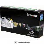 Lexmark C736, X736, X738 Y sárga toner /C736H1YG/, 10.000 oldal | eredeti termék