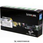 Lexmark C736, X736, X738 Y sárga toner /C736H1YG/, 10.000 oldal   eredeti termék