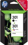 HP CR340EE CH561EE Bk fekete + CH562 színes #No.301+301 tintapatron | eredeti termék