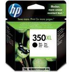 HP CB336EE Bk fekete #No.350XL tintapatron, 25 ml | eredeti termék