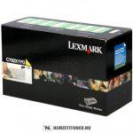 Lexmark C790 Y sárga XL toner /C792X1YG/, 20.000 oldal   eredeti termék
