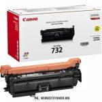 Canon CRG-732 Y sárga toner /6260B002/, 6.400 oldal | eredeti termék