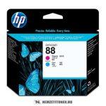 HP C9382A C ciánkék + M magenta #No.88 nyomtatófej, 90.000 oldal | eredeti termék