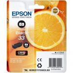 Epson T3341 PBk fotó fekete tintapatron /C13T33414010, C13T33414012, 33/, 4,5 ml   eredeti termék