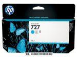 HP B3P19A C ciánkék #No.727 tintapatron, 130 ml | eredeti termék