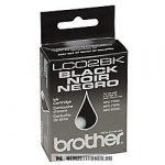 Brother LC-02 Bk fekete tintapatron | eredeti termék