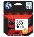 HP CZ101AE Bk fekete #No.650 tintapatron, 13,5 ml | eredeti termék