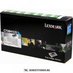 Lexmark C736, X736, X738 C ciánkék toner /C736H1CG/, 10.000 oldal   eredeti termék
