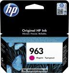 HP 3JA24AE M magenta #No.963 tintapatron, 10,74 ml   eredeti termék