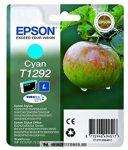 Epson T1292 C ciánkék tintapatron /C13T12924010, C13T12924012/, 7 ml | eredeti termék