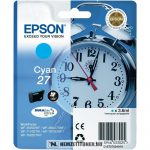 Epson T2702 C ciánkék tintapatron  /C13T27024010/, 3,6 ml | eredeti termék