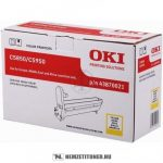 OKI C5850, C5950 Y sárga dobegység /43870021/, 20.000 oldal | eredeti termék