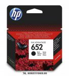 HP F6V25AE Bk fekete #No.652 tintapatron   eredeti termék