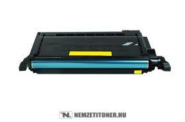 Samsung CLP-600, 650 Y sárga toner /CLP-Y600A/ELS/, 4.000 oldal | utángyártott import termék