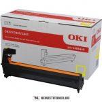 OKI C822, C831, C841 Y sárga dobegység /44844405/, 30.000 oldal   eredeti termék