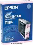Epson T484 LM világos magenta tintapatron /C13T484011/, 110 ml | eredeti termék